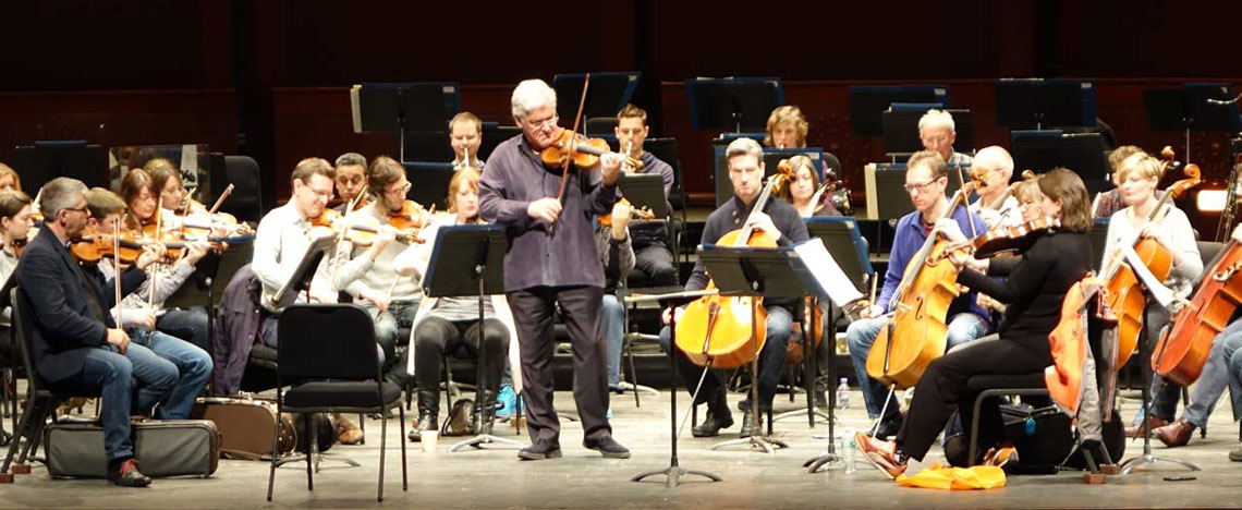 1. Pinchas Zukerman and Orchestra